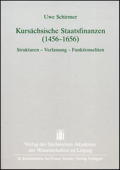 Kursächsische Staatsfinanzen (1456-1656)