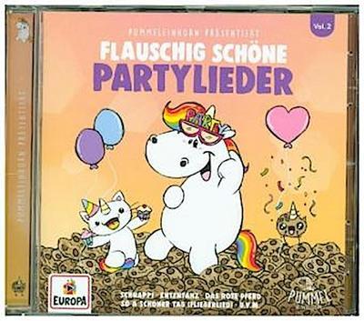 Pummeleinhorn präsentiert flauschig schöne Partylieder