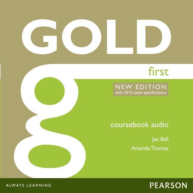 Gold First New Edition Class Audio CDs,