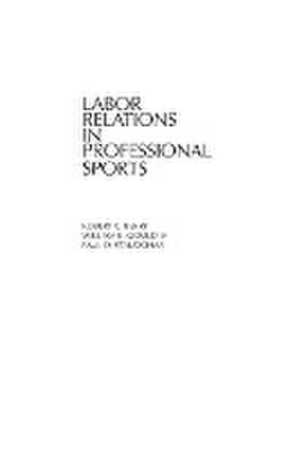Labor Relations in Professional Sports
