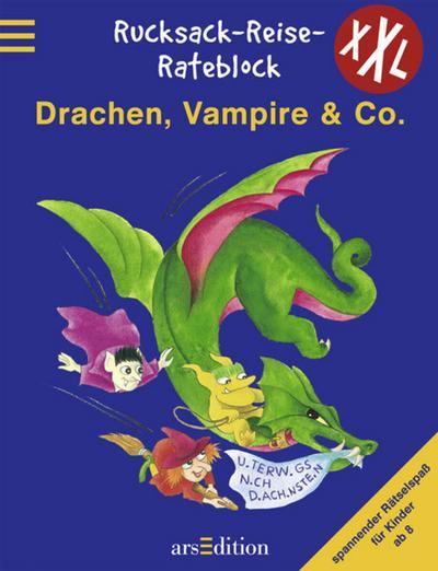 Drachen, Vampire & Co. - Arsedition - Taschenbuch, Deutsch, H. Rost, Spannender Rätselspaß für Kinder ab 8, Spannender Rätselspaß für Kinder ab 8