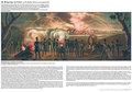 Historische Darstellung: Belagerung von Erfurt vom 25. Oktober 1813 bis zum 6. Januar 1814 (A2 gefaltet auf A4)
