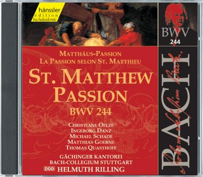Edition Bachakademie Vol. 74 (Matthäus-Passion)