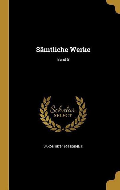 GER-SAMTLICHE WERKE BAND 5