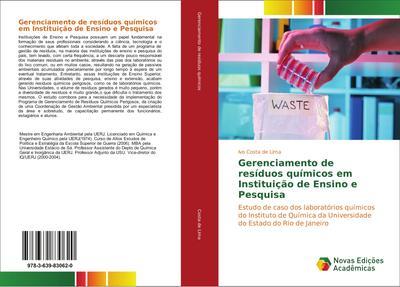 Gerenciamento de resíduos químicos em Instituição de Ensino e Pesquisa