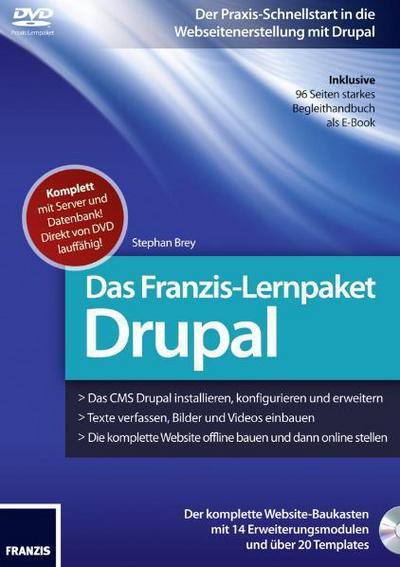 Brey, S: Webseitenerstellung mit Drupal/Lernpaket/CD-ROM