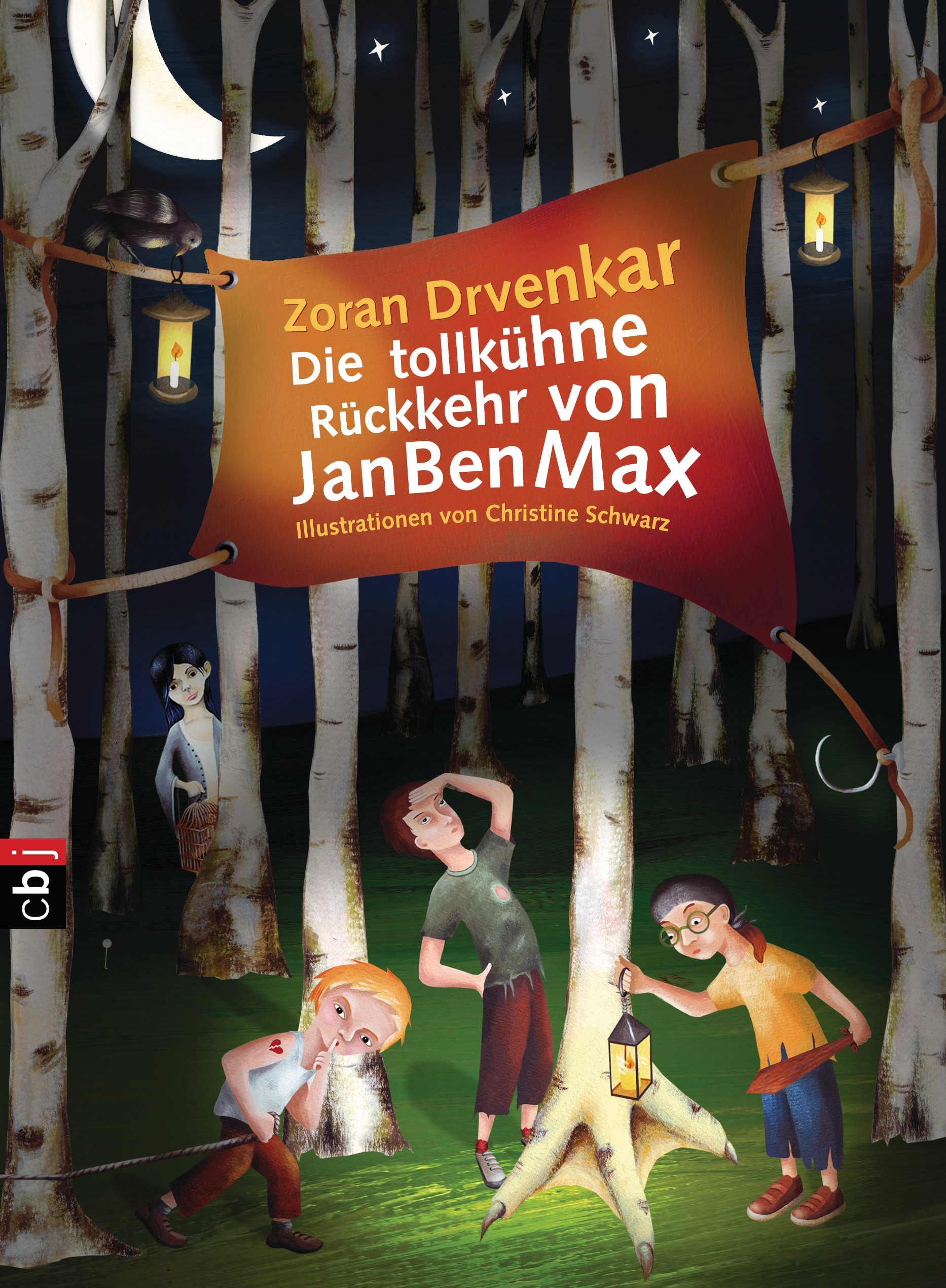 Die tollkühne Rückkehr von JanBenMax Zoran Drvenkar