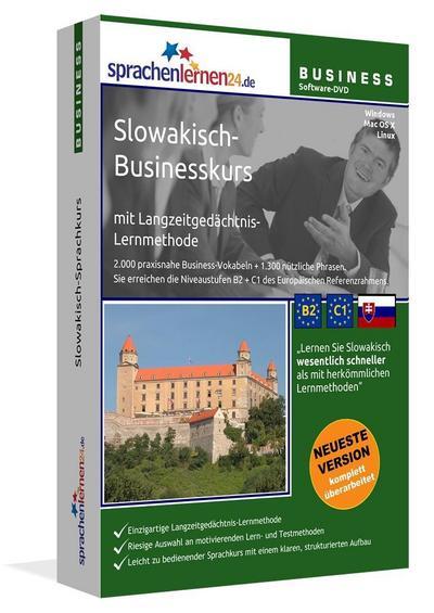 Sprachenlernen24.de Slowakisch-Businesskurs Software