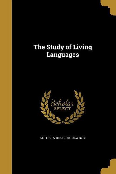 STUDY OF LIVING LANGUAGES