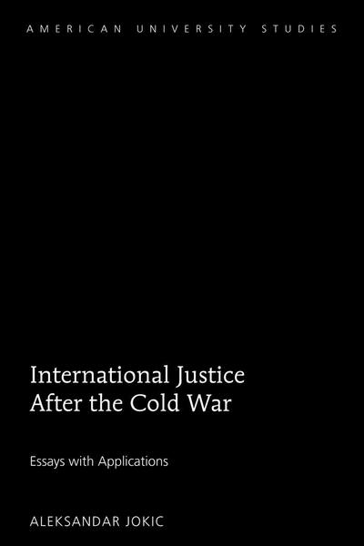 International Justice After the Cold War