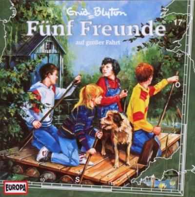 Fünf Freunde 017: ... auf großer Fahrt