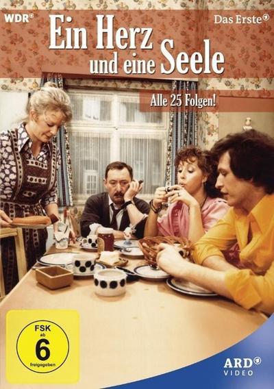 Eine Herz und eine Seele - Alle 25 Folgen!, 9 DVDs