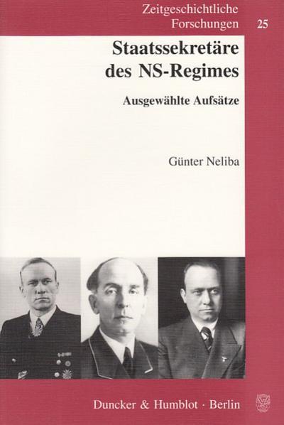 Staatssekretäre des NS-Regimes