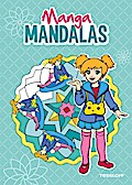 Manga Mandalas; Malbücher und -blöcke; Ill. v. Beurenmeister, Corina; Deutsch; schw.-w. Ill.