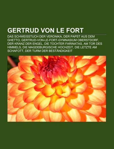 Gertrud von le Fort