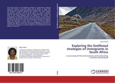 Exploring the livelihood strategies of immigrants in South Africa