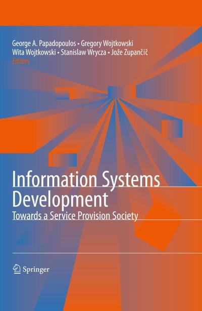 Information Systems Development: Towards a Service Provision Society