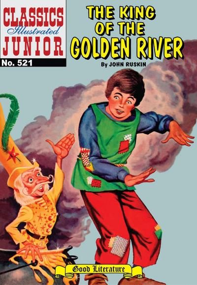 King of the Golden River (with panel zoom) - Classics Illustrated Junior