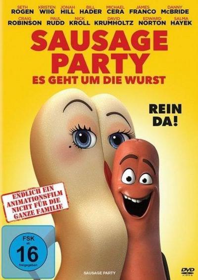 Sausage Party - Es geht um die Wurst, 1 DVD