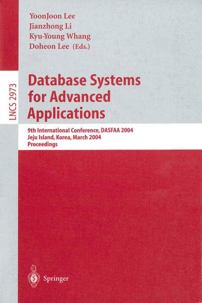 Database Systems for Advances Applications