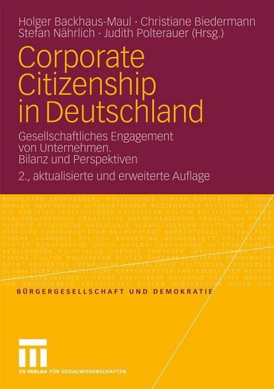 Corporate Citizenship in Deutschland