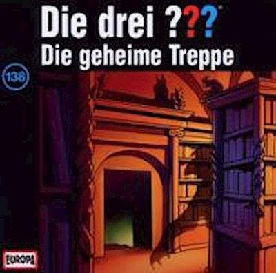 Die drei ??? 138. Die geheime Treppe (drei Fragezeichen) CD
