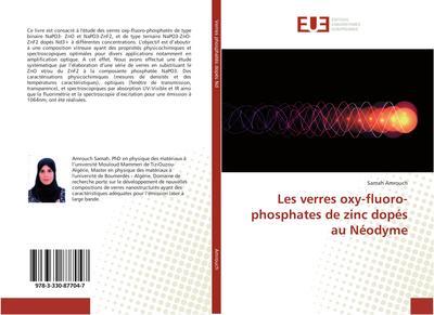 Les verres oxy-fluoro-phosphates de zinc dopés au Néodyme