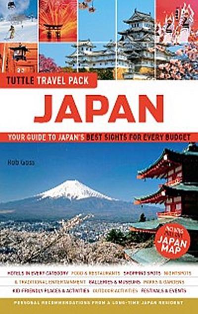 Japan Travel Guide & Map Tuttle Travel Pack
