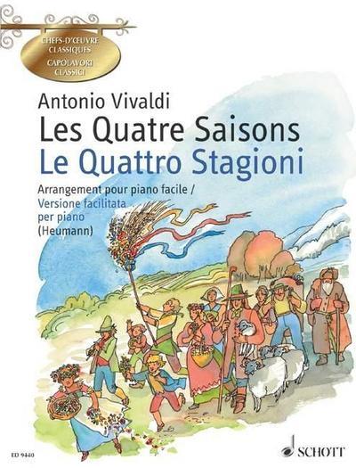 Les Quatre Saisons / Le quattro stagioni
