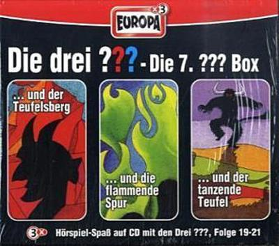 Die drei ??? Box 07. Folgen 19-21 (drei Fragezeichen) 3 CDs