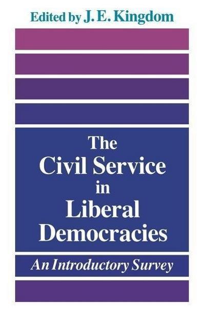 The Civil Service in Liberal Democracies