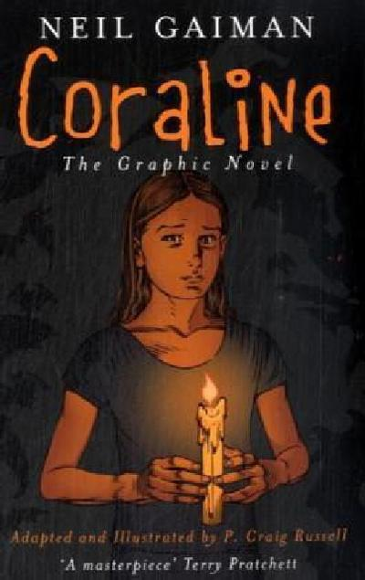 Coraline, English edition, The Graphic Novel