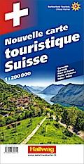 Grosse Reisekarte Schweiz 1 : 200 000