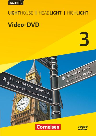 English G Lighthouse / English G Headlight / English G Highlight  03: 7. Schuljahr. Video-DVD. Allgemeine Ausgabe