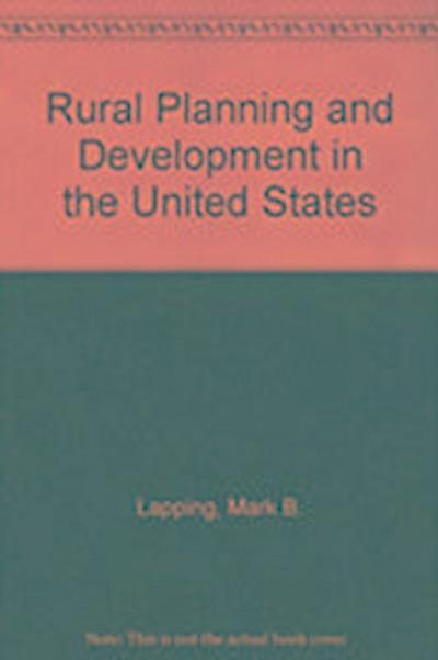 Rural Planning And Development In The United States