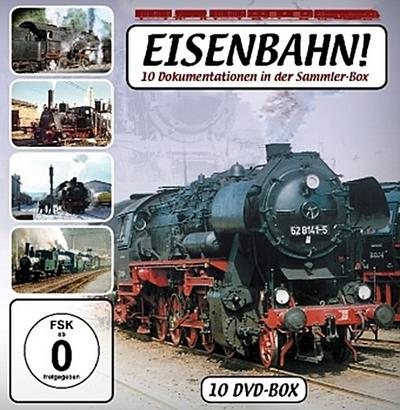 Eisenbahn, 10 DVDs