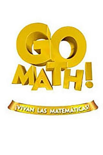 Go Math! Vivan Las Matemáticas: Student Reteach Workbook Grade 4