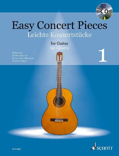 Easy Concert Pieces. Band 1. Gitarre.  Ausgabe mit CD