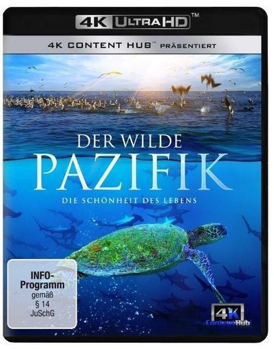 Der wilde Pazifik - Die Schönheit des Lebens 4K/UHD