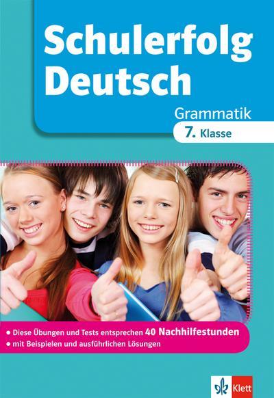 Schulerfolg Dt. Grammatik 7. Kl.