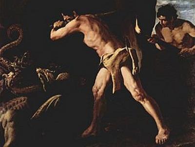 Francisco de Zurbarán - Herkules bekämpft die Lernäische Hydra - 200 Teile (Puzzle)