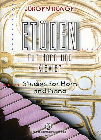 Etüden, für Horn und Klavier, Partitur u. Einzelstimme