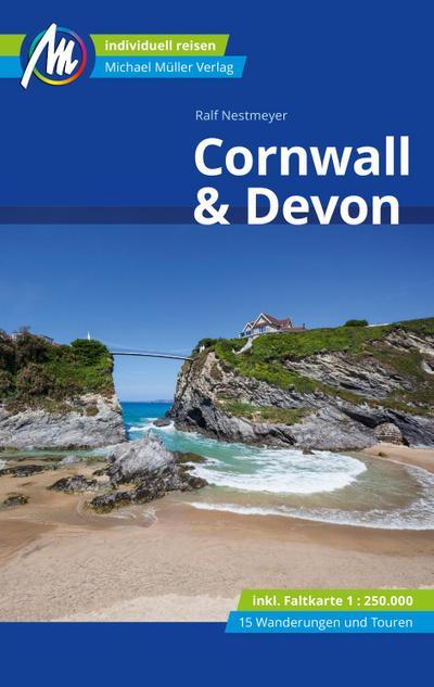 Cornwall & Devon Reiseführer Michael Müller Verlag; Individuell reisen mit vielen praktischen Tipps; Deutsch; 135 farb. Fotos