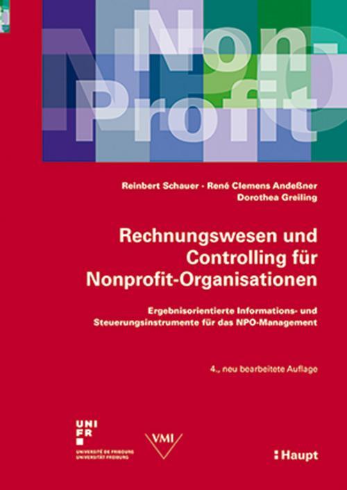 Rechnungswesen und Controlling für Nonprofit-Organisationen Reinbert Schauer