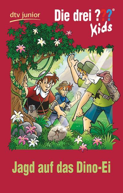 Die drei ??? Kids 46 - Jagd auf das Dino-Ei: Erzählt von Ulf Blanck