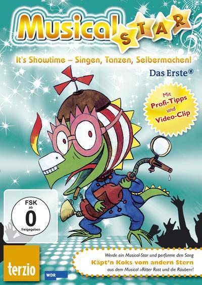 Ritter Rost Audio-CD: Musical-Star: Käpt'n Koks vom andern Stern