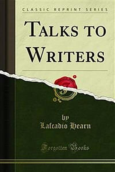 Talks to Writers