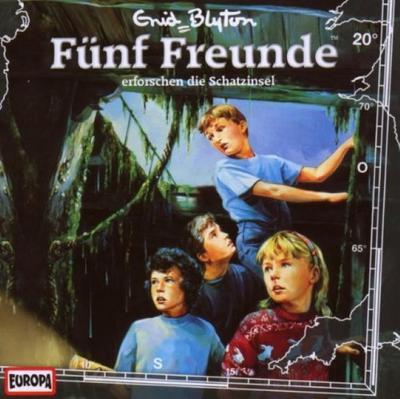 Fünf Freunde 020: ... erforschen die Schatzinsel