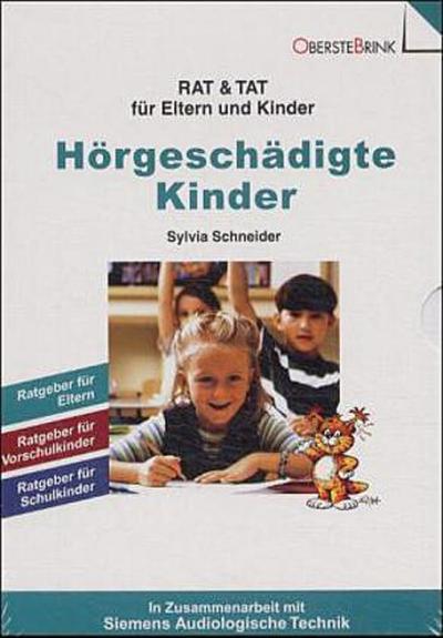 Hörgeschädigte Kinder. Kassette: 3 Bde.