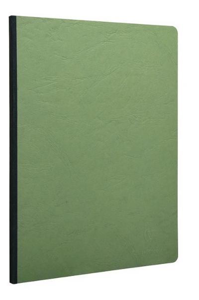 AgeBag Kladde grün A4-Format blanco